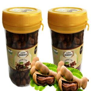 モニーゴールド歯ごたえのあるタマリンドキャンディ130 G.Thai Tastyで歯ごたえがあり、おいしい新鮮な甘酸っぱいタマリンドから作られた2個のパック。 Moniegold Chewy Tamarind Candy 130 G.Pack of 2 made