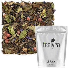 Tealyra-ホワイトシャンパン-ホワイトルーズリーフティー-高レ