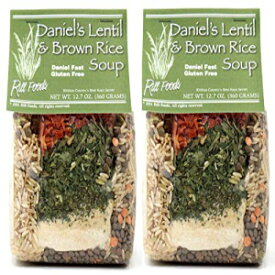 Rill Foods Daniel's Lentil & Brown Rice Soup Mi