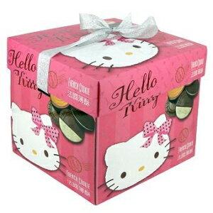 ピンクのギフトボックスにハローキティフレンチクッキー hello kitty french cookie in pink gift box