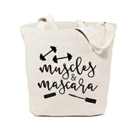 The Cotton & Canvas Co. Muscles & Mascara Gym,