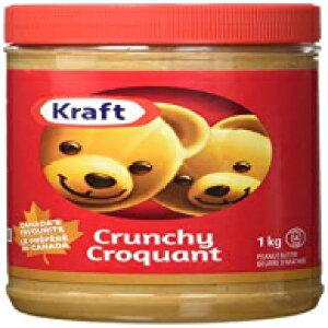 クラフトピーナッツバター-カリカリ1KG-カナダから輸入 KRAFT