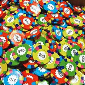 チョコレートカジノポーカーチップアソートコイン-カラフルなホイルのラスベガスカジノコイン-1ポンド FavorOnline Chocolate Casino Poker Chips Assorted Coins - Las Vegas Casino Coins in Colorful Foil - 1 Pound