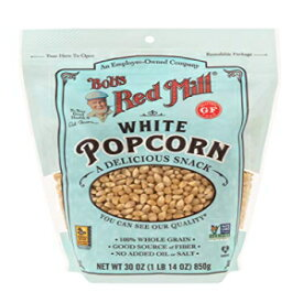 Bob's Red Mill Whole White Popcorn, 30-ounce