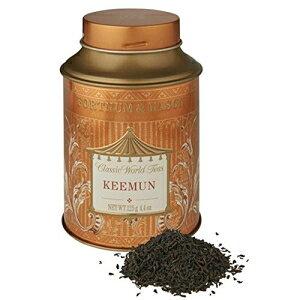 フォートナム&メイソンブリティッシュティー、Keemun 125gルースティーギフトティンキャディ(1パック)-kee5a-USA Stock Fortnum & Mason London Fortnum & Mason British Tea, Keemun 125g Loose Tea in a Gift Tin Caddy (1 P