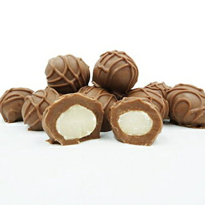 フィラデルフィアキャンディーズミルクチョコレートで覆われたマカデミアナッツ、1ポンドのギフトボックス Philadelphia Candies Milk Chocolate Covered Macadamia Nuts, 1 Pound Gift Box