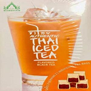 23ティーバッグ、本物のタイのアイスティー風味の紅茶、20ティーバッグ(限定版) 23 tea bags, Authentic Thai Iced Tea Flavored Black Tea,20 Tea Bags (Limited Edition)
