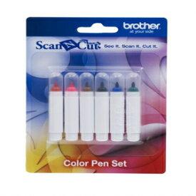 Brother ScanNCut Set CAPEN1, 6-Piece Color Permane