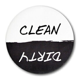 Home Advantage Magnetic Dishwasher Clean Dirty Sign