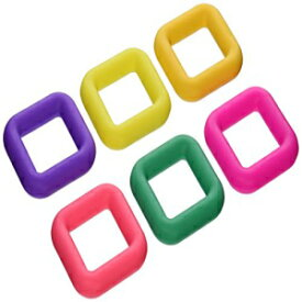 Cook Pro 301 6-Piece Silicone Trivets, Square, Y