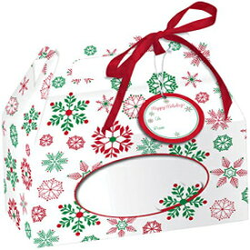 Creative Converting 4 Boxes Cookie Box with Carry