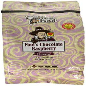 コーヒーフールチョコレートラズベリーグラウンドコーヒーフレンチプレス、2ポンド The Coffee Fool Chocolate Raspberry Ground Coffee French Press, 2 Pound