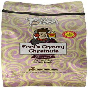 コーヒーフールクリーミー栗挽いたコーヒー、ドリップグラインド、2ポンド The Coffee Fool Creamy Chestnuts Ground Coffee, Drip Grind, 2 Pound