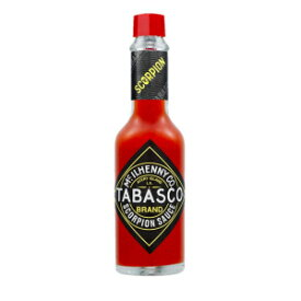 5 Ounce (Pack of 1), Tabasco Scorpion Hot Sauce (5 Ounce)