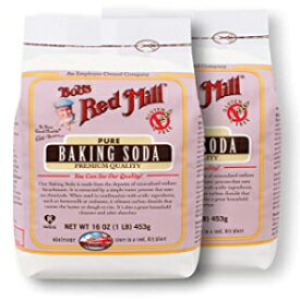 ベーキングソーダ、グルテンフリー2/16オンスボブズレッドミル Visit the Bob's Red Mill Store Baking Soda, Gluten Free 2/16oz Bob's Red Mill, Packaging May Vary