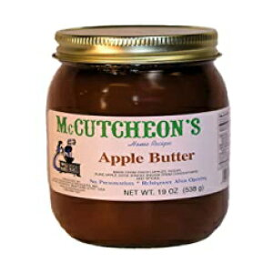 Mccutcheon、スプレッドアップルバター、19オンス Mccutcheon, Spread Apple Butter, 19 Ounce