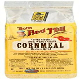 Bob's Red Mill Medium Grind Cornmeal-24オンス Bob's Red Mill Medium Grind Cornmeal - 24 oz