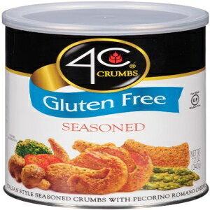4C、パン粉、グルテンフリー、12オンスコンテナ(3パック)(スタイルを選択)(味付け) 4C, Crumbs, Gluten Free, 12oz Container (Pack of 3) (Choose Style) (Seasoned)