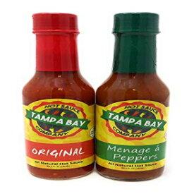Tampa Bay Hot Sauce Company Original and Menage a