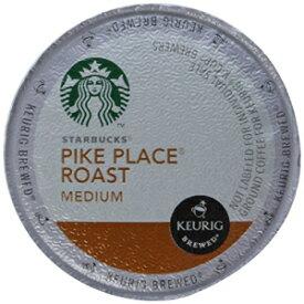 スターバックスパイクプレイスロースト、Keurig Kカップブリューワー用Kカップポーションパック、24 Kカップ(2パック) Starbucks Pike Place Roast, K-Cup Portion Pack for Keurig K-Cup Brewers, 24 K-Cups (Pack of 2)