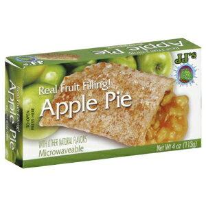 JJ's Bakery軽く艶をかけられたスナックパイ4oz(6パック)(アップル) JJ's Bakery Lightly Glazed Snack Pies 4oz (Pack of 6) (Apple)