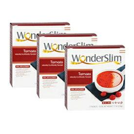 WonderSlim Low-Carb Diet High Protein Soup Mix - Tomato Soup (3 Boxes Value Pack) - Low Carb, Low Calorie, Fat Free Soup