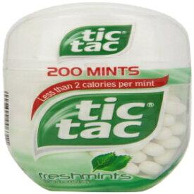 Tic Tac Mints, Freshmints, 200Count 3.4 oz. Bottle Pack