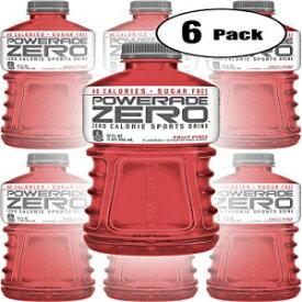 パワーエイドゼロレッドフルーツパンチ、ゼロカロリースポーツドリンク、32オンスボトル(6パック、合計192オンス) Powerade Zero Red Fruit Punch, Zero Calorie Sports Drink, 32oz Bottle (Pack of 6, Total of 192 Oz)