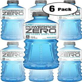 パワーエイドゼロブルーミックスベリー、ゼロカロリースポーツドリンク、32オンスボトル(6パック、合計192オンス) Powerade Zero Blue Mixed Berry, Zero Calorie Sports Drink, 32oz Bottle (Pack of 6, Total of 192 Oz)