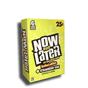 Now&Later限定版フレーバーストロベリーキウイ24ctチェンジメーカーズ Now and Later Now & Later Limited Edition Flavor Strawberry Kiwi 24ct Changemakers
