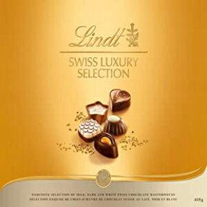 14.6オンス(1パック)、詰め合わせ、リンドスイスラグジュアリーセレクションボックスチョコレート、ギフトボックス、14.6オンス 14.6 Ounce (Pack of 1), Assorted, Lindt Swiss Luxury Selection Boxed Chocolate