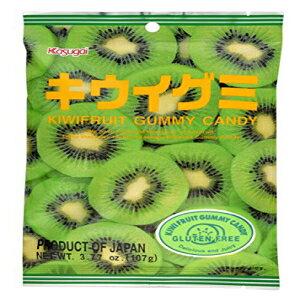 春日井キウイグミキャンディ3.77oz(6パック) Kasugai Kiwi Gummy Candy 3.77oz (6 Pack)