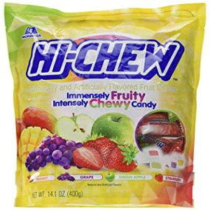 14.1オンス(1パック)、各種フレーバー、ハイチュウセンセーショナルな歯ごたえのあるフルーツキャンディー、各種フレーバー、14.1オンス 14.1 Ounce (Pack of 1), Assorted Flavors, Hi-Chew Sensationally Ch