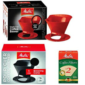 Melitta Ready Set Joe Single Cup Pour Over Coffee