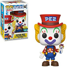 Funko POP! Ad Icons: Pez - Peter Pez #52 - Toy Tokyo Exclusive SDCC 2019 - Bundled with Free GDS .50mm Acid-Free PET Plastic Protector with Removable Peel Film.