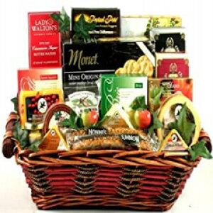 ギフトバスケットヴィレッジセイチーズグルメラバーギフトバスケット Gift Basket Village Say Cheese Gourmet Lover Gift Basket