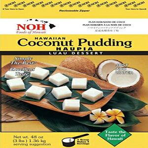 NOH Foods of Hawaiiハワイアンココナッツプリン(ハウピア)ミックス、3ポンド(5パック) NOH Foods of Hawaii Hawaiian Coconut Pudding (Haupia) Mix, 3 Pound (Pack of 5)