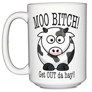 Moo Bitch - Get Out Da Hay - Funny Cow Coffee