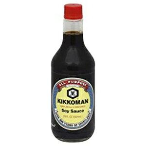 キッコーマン醤油20オンス(2パック) Kikkoman Soy Sauce 20 Oz (Pack of 2)