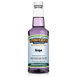 ハワイアンかき氷シロップ、ぶどう、パイント Hawaiian Shave