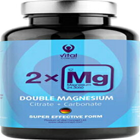 Vital Concept Double Magnesium - Daily Dose 250 m