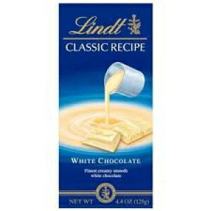 Lindtクラシックレシピホワイトチョコレートバー-3個入りパック Lindt Classic Recipe White Chocolate Bar - Pack of 3