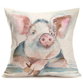 Pillow Covers Abstract Adorable Funny Animal Pig T