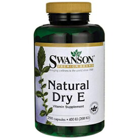 Swanson Natural Dry Vitamin E 400 Iu (180.2 Mill