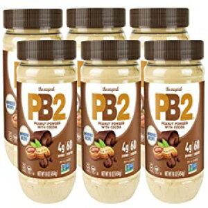 ベルプランテーションPB2チョコレートピーナッツバター、1ポンドジャー(6パック) Bell Plantation PB2 Chocolate Peanut Butter, 1 lb Jar (Pack of 6)