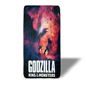 Surreal Entertainment Godzilla: King of The Monsters Throw Blanket Standard