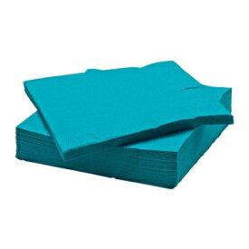 Ikea Fantastisk - Paper Napkin, Turquoise / 50 P