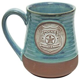 Abbey Gift Police Officer Pottery Mug