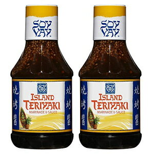 Soy Vay Marinade Island Teriyaki、20オンス(2パック) Soy Vay Marinade Island Teriyaki, 20 oz (Pack of 2)