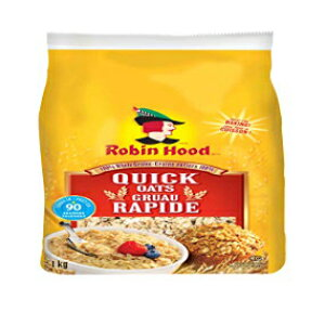 ロビンフッド100%全粒穀物クイックオートミール1kg / 35ozカナダから輸入} Robin Hood 100% Whole Grains Quick Oats 1kg/35oz Imported from Canada}